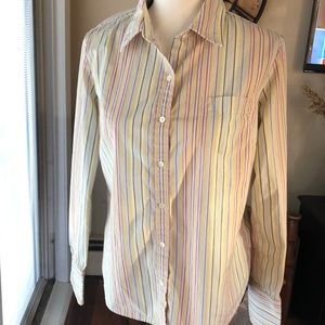 J. Crew Striped Button-down Shirt